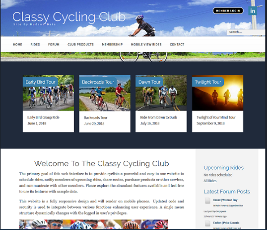Cycle Website